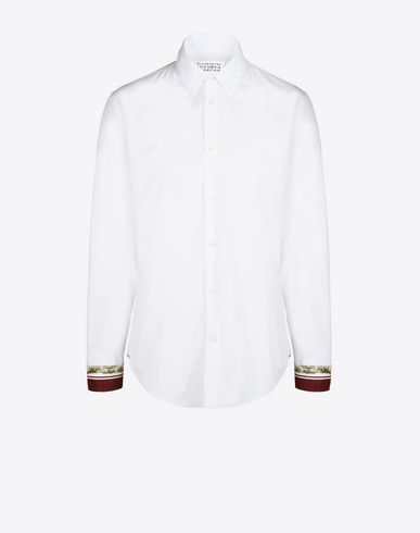 MAISON MARGIELA 14 Long sleeve shirt U Slim fit shirt with cuffs details f