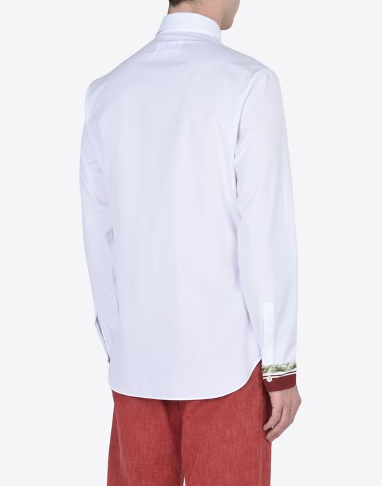 MAISON MARGIELA 14 Slim fit shirt with cuffs details Long sleeve shirt U e