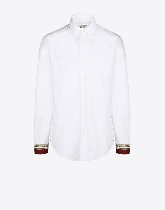 MAISON MARGIELA 14 Slim fit shirt with cuffs details Long sleeve shirt U f