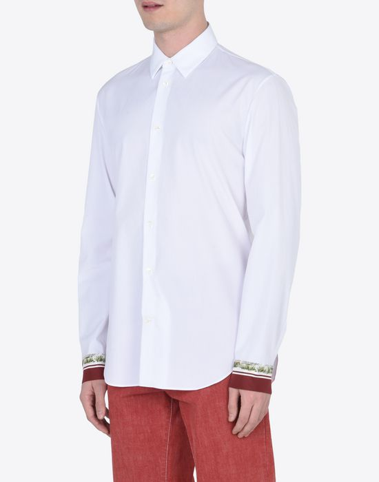 MAISON MARGIELA 14 Slim fit shirt with cuffs details Long sleeve shirt U r