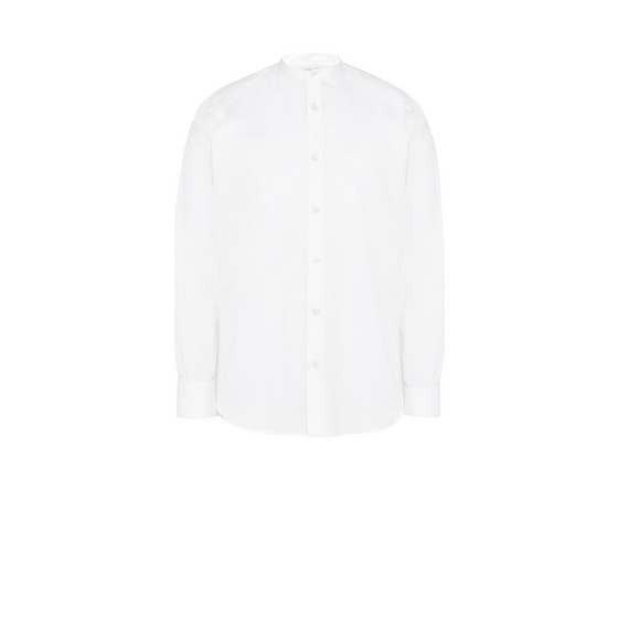 White Washed Cotton Shirt