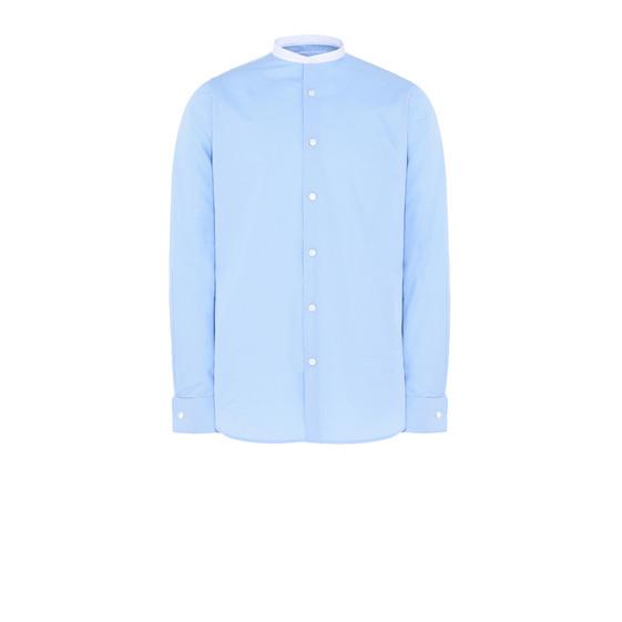 Blue Poplin Shirt