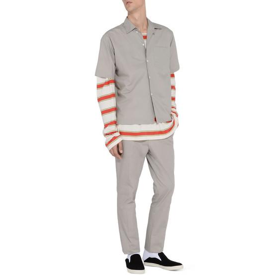 Grey Poplin Shirt