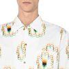 STELLA McCARTNEY MEN Psychedelic Flower Print Shirt Men Shirts U a