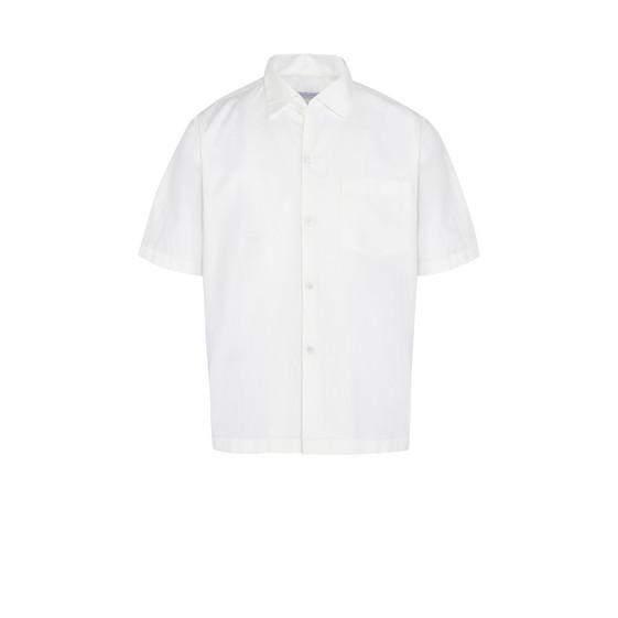 White Members Print Shirt