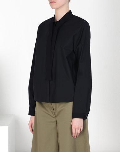 MM6 by MAISON MARGIELA Long sleeve shirt D Poplin scarf shirt f