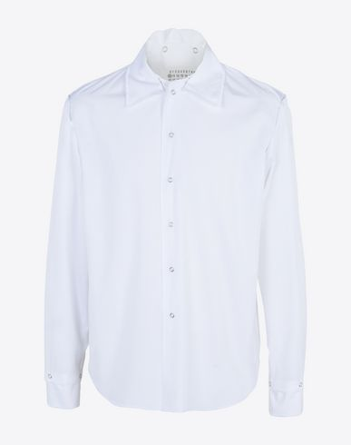 MAISON MARGIELA 10 Loose fit shirt Long sleeve shirt U f