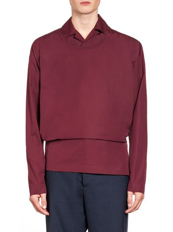 Marni Shirt in twisted cotton with Velcro Man