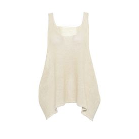STELLA McCARTNEY Sleeveless D Chunky Stitch Sleeveless Top f