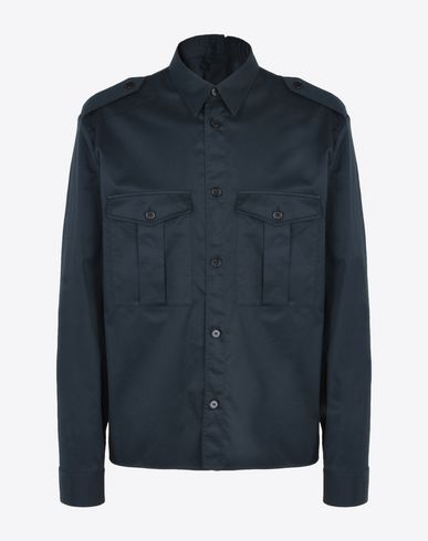 MAISON MARGIELA 10 Shirt with double button closure Long sleeve shirt U f