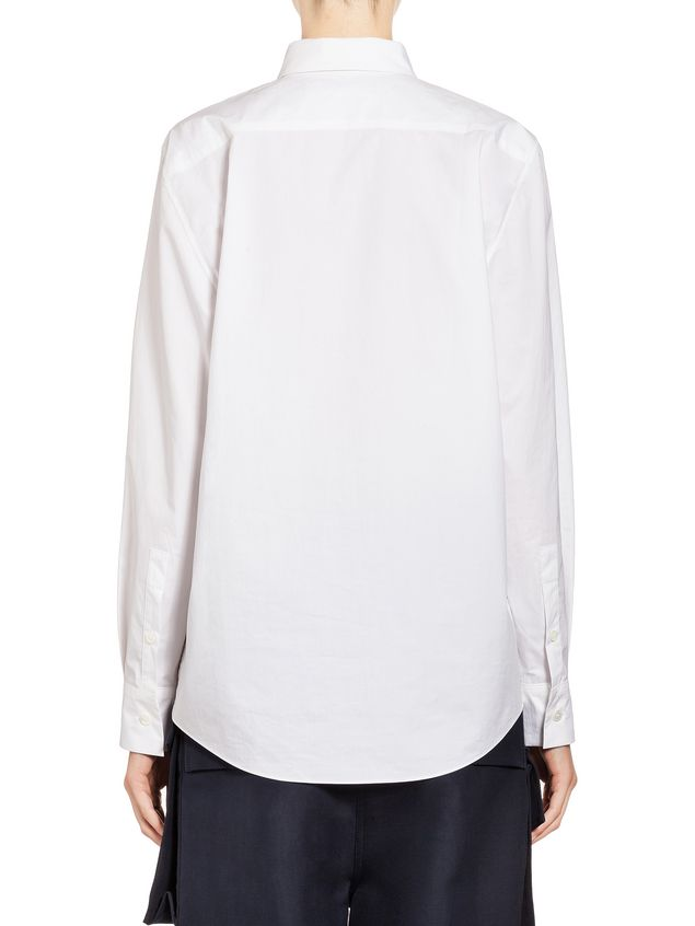 Marni Blouse in coated poplin Ruth Van Beek Woman