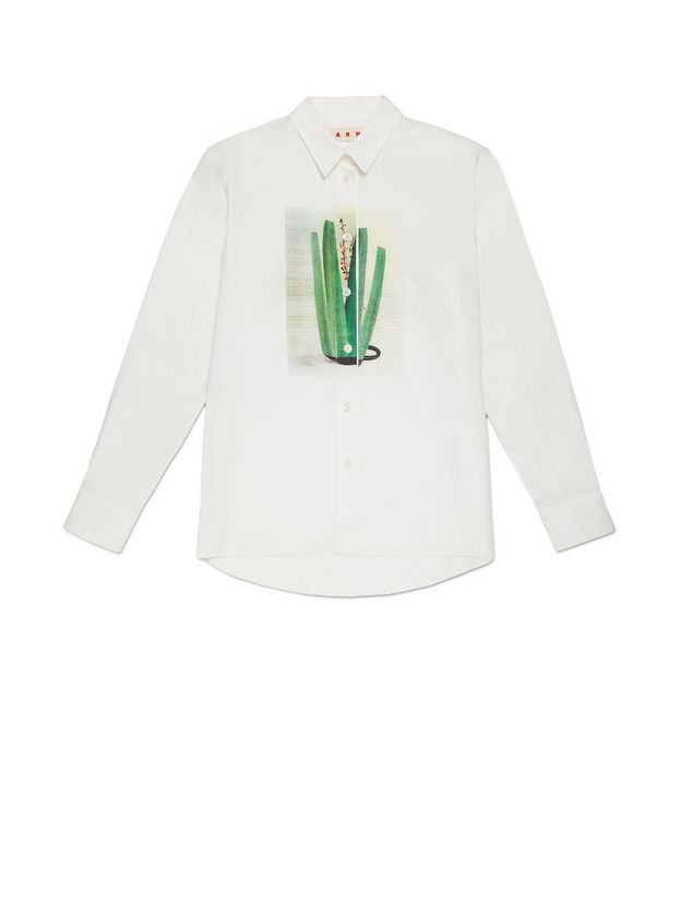 Marni Blouse in coated poplin Ruth Van Beek Woman - 2