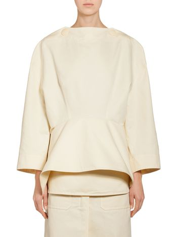 Marni Runway blouse in cotton and linen Woman
