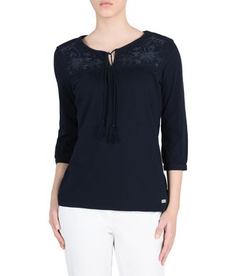 NAPAPIJRI GODEZIA WOMAN BLOUSE,DARK BLUE