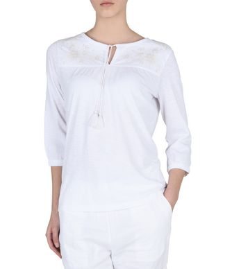 NAPAPIJRI GODEZIA WOMAN BLOUSE,BRIGHT WHITE