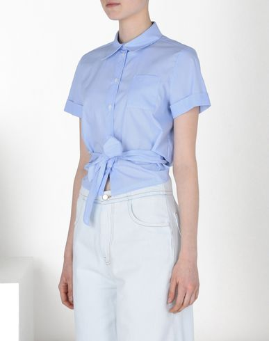 MM6 by MAISON MARGIELA Short sleeve shirt D Striped poplin shirt f