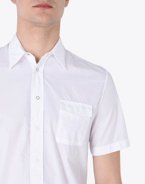 MAISON MARGIELA Short sleeves shirt Short sleeve shirt U b