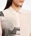 KARL LAGERFELD Camicia in Seta Photo Print 8_e