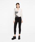KARL LAGERFELD Silk Photo Print Shirt 8_d