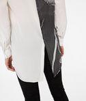 KARL LAGERFELD Silk Photo Print Shirt 8_e