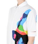 KARL LAGERFELD Printed Poplin Shirt Dress 8_e