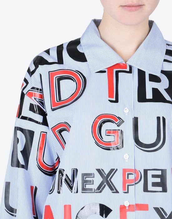 MAISON MARGIELA Propaganda' print shirt Long sleeve shirt D b