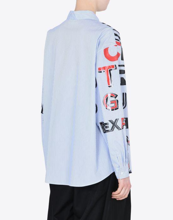 MAISON MARGIELA Propaganda' print shirt Long sleeve shirt D e