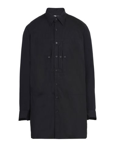 Y-3 COTTON DOUBLE POCKET SHIRT SHIRTS man Y-3 adidas