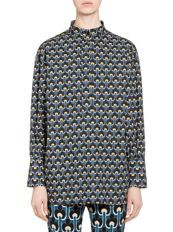 Marni Cotton poplin blouse Portrait Woman
