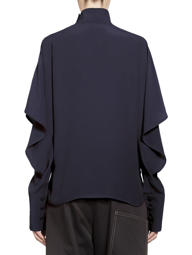 Marni Washed silk acetate blouse Woman - 3