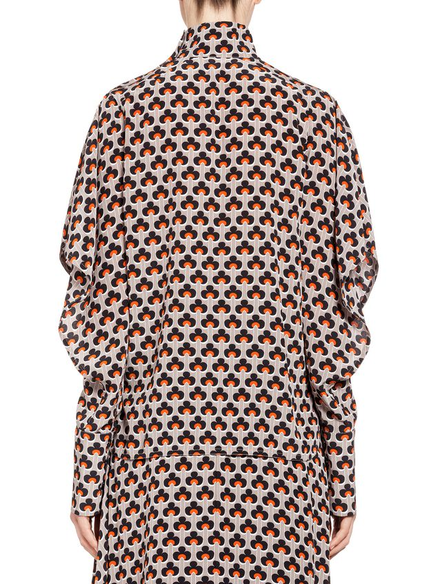 Marni Silk blouse Portrait print Woman - 3