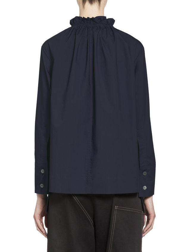 Marni Cotton blouse puckered crewneck Woman