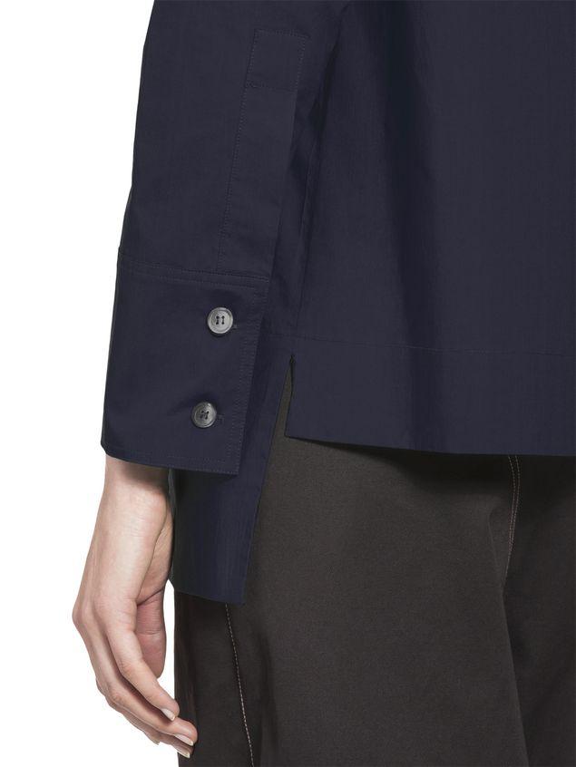 Marni Cotton blouse puckered crewneck Woman - 4