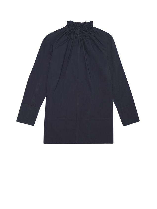 Marni Cotton blouse puckered crewneck Woman - 2