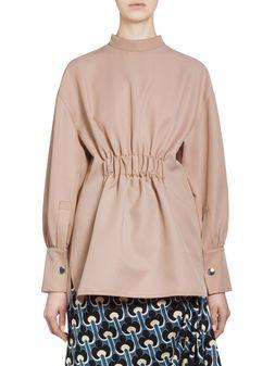 Marni Puckered blouse in acetate Woman