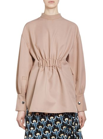 Marni Puckered blouse in acetate Woman