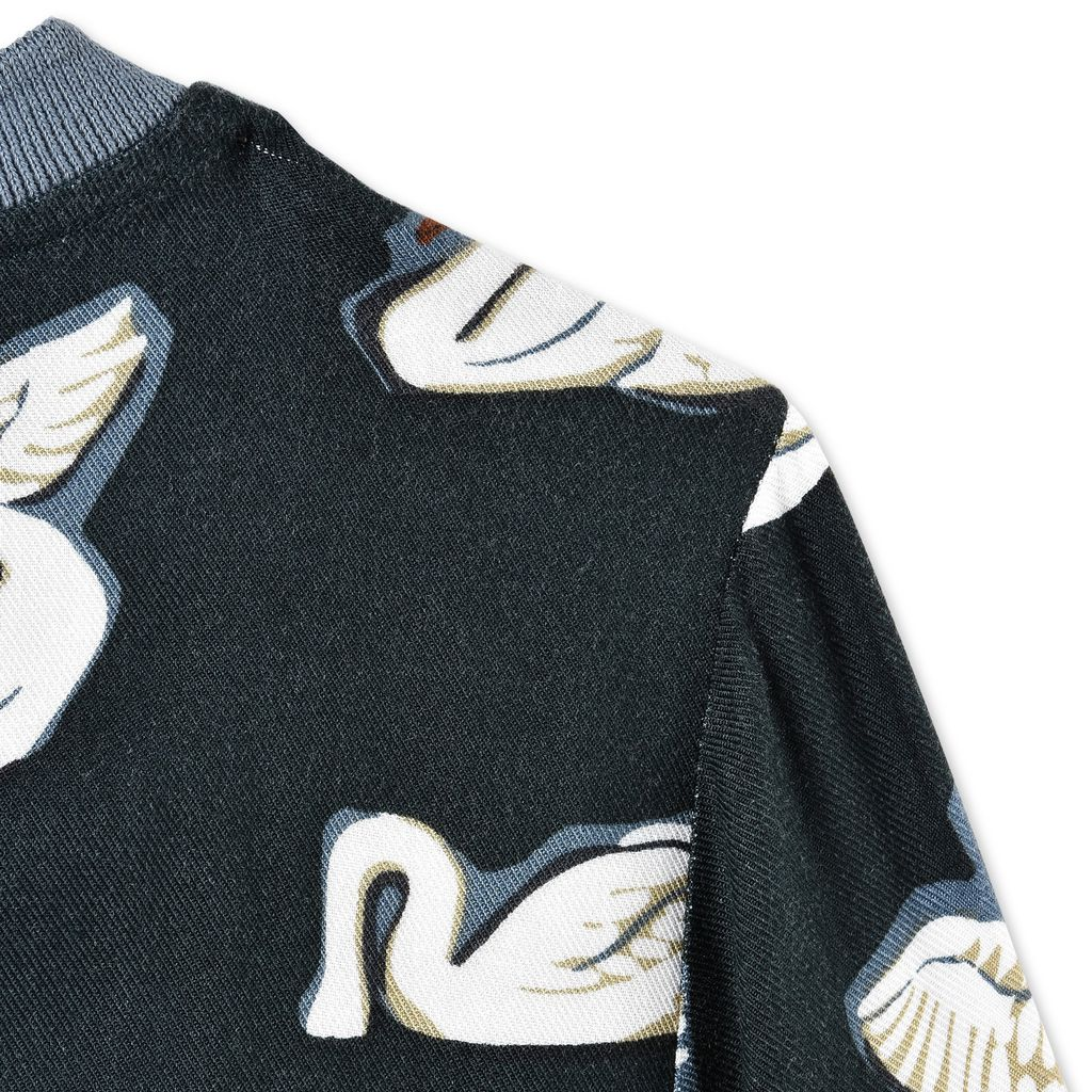 Irma Swan Print Top - STELLA MCCARTNEY KIDS