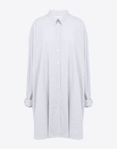 MAISON MARGIELA Long sleeve shirt D Oversized cotton poplin shirt f