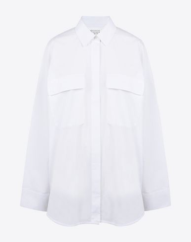 MAISON MARGIELA 1 Long sleeve shirt D Shirt with oversized sleeves f