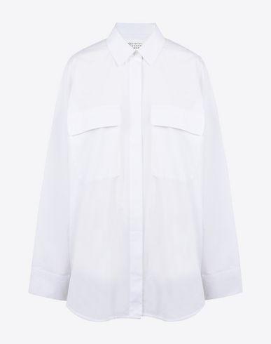 MAISON MARGIELA 1 長袖シャツ D シャツ オーバーサイズ スリーブ f