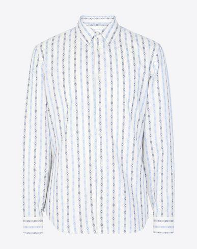 MAISON MARGIELA Long sleeve shirt U Vintage jacquard print shirt f