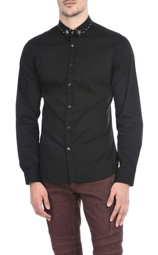 JUST CAVALLI Denim shirt U Denim shirt with detailing f