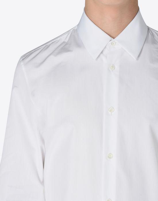 MAISON MARGIELA Slim fit cotton poplin shirt Long sleeve shirt [*** pickupInStoreShippingNotGuaranteed_info ***] a