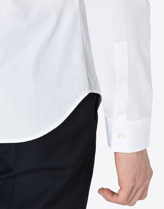 MAISON MARGIELA Slim fit cotton poplin shirt Long sleeve shirt [*** pickupInStoreShippingNotGuaranteed_info ***] b