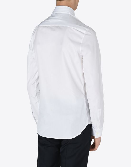MAISON MARGIELA Slim fit cotton poplin shirt Long sleeve shirt [*** pickupInStoreShippingNotGuaranteed_info ***] e