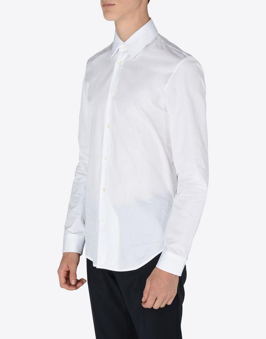 MAISON MARGIELA Slim fit cotton poplin shirt Long sleeve shirt [*** pickupInStoreShippingNotGuaranteed_info ***] r