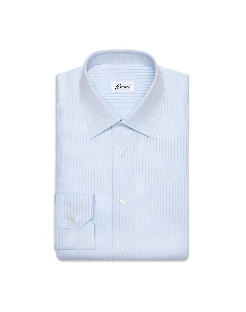 BRIONI Bluette Striped Shirt Formal shirt [*** pickupInStoreShippingNotGuaranteed_info ***] f