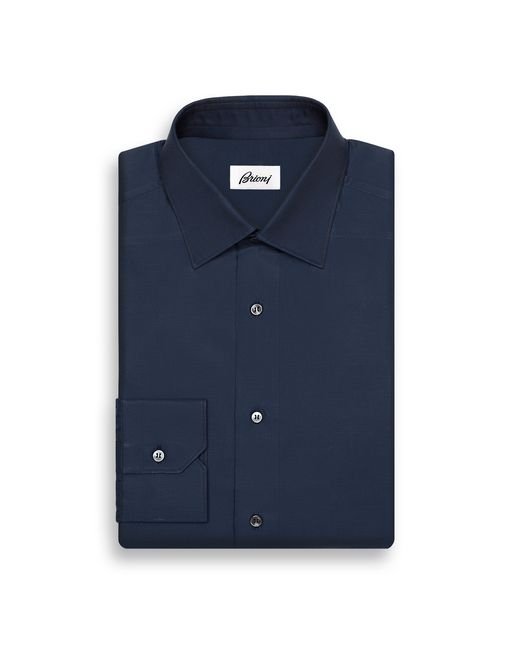 BRIONI Formal shirt U Blue Navy Shirt   f