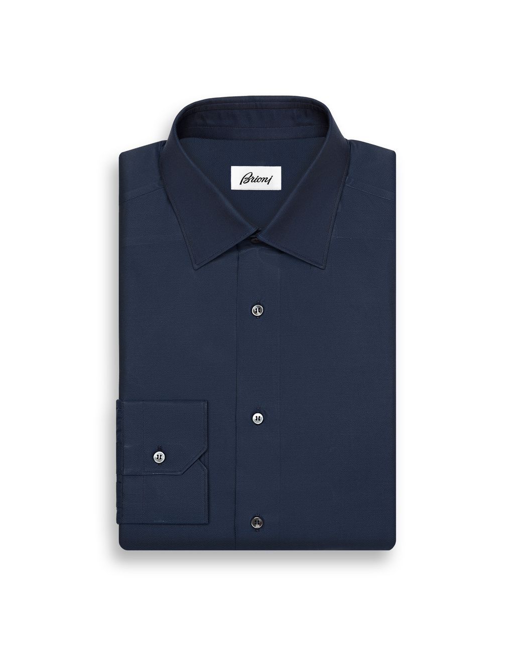 BRIONI Blue Navy Shirt   Formal shirt [*** pickupInStoreShippingNotGuaranteed_info ***] f