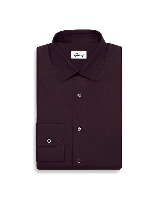 Приталенная бордовая рубашка